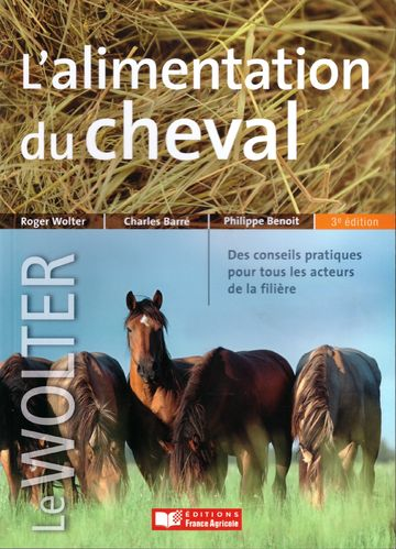 l'alimentation du cheval